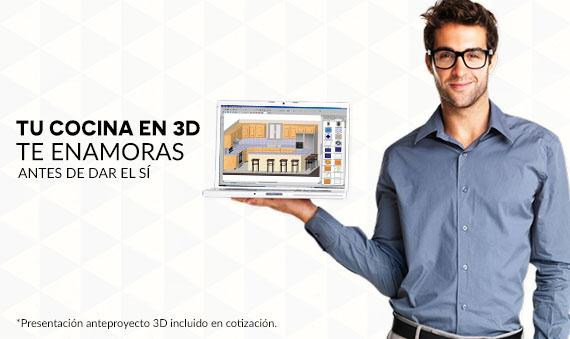Vonvang Proyectos de Cocina en 3D