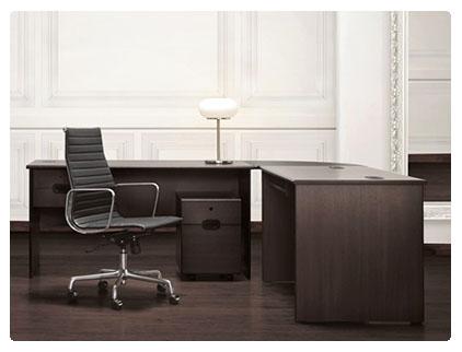 Muebles de escrito para oficina.