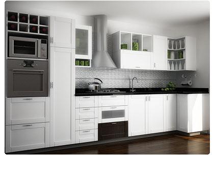 Cocinas con diseños basados en lo mas nuevo en tendencias.