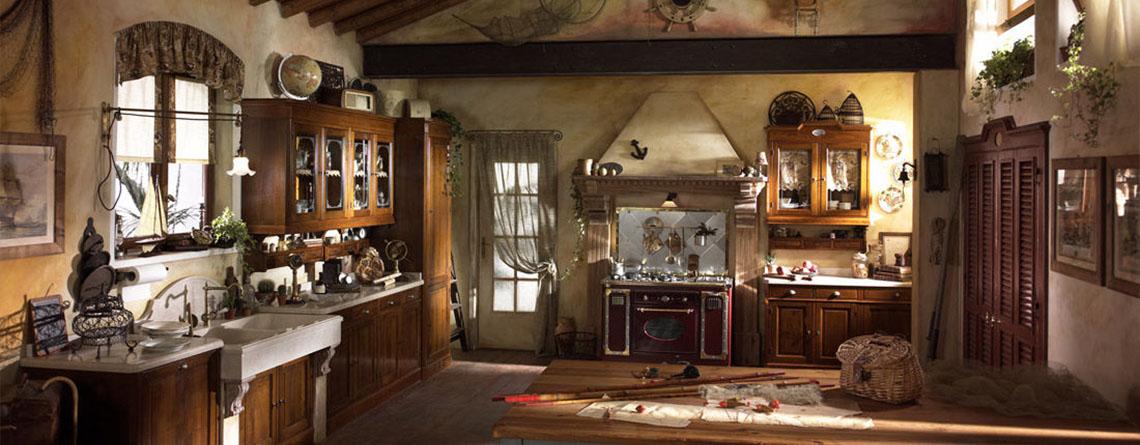 Cocina rusticas alacenas y bajomesadas de madera vonvang - Fotos de cocinas rusticas de obra ...