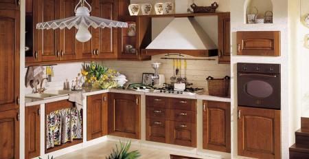 cocina rusticas alacenas y bajomesadas de madera